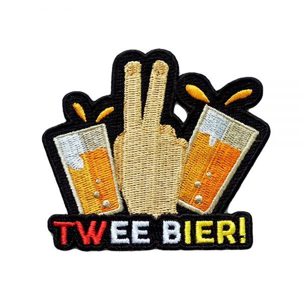 Twee bier oeteldonk embleem